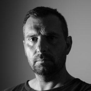 Jiří Suchý art portrait